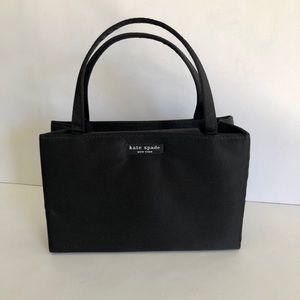 Authentic Kate Spade black nylon Sam mini bag